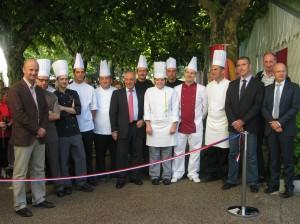 Inauguration Festival du Gout 018 300x224 12è Festival cuisine santé : le goût de se faire du bien   2011