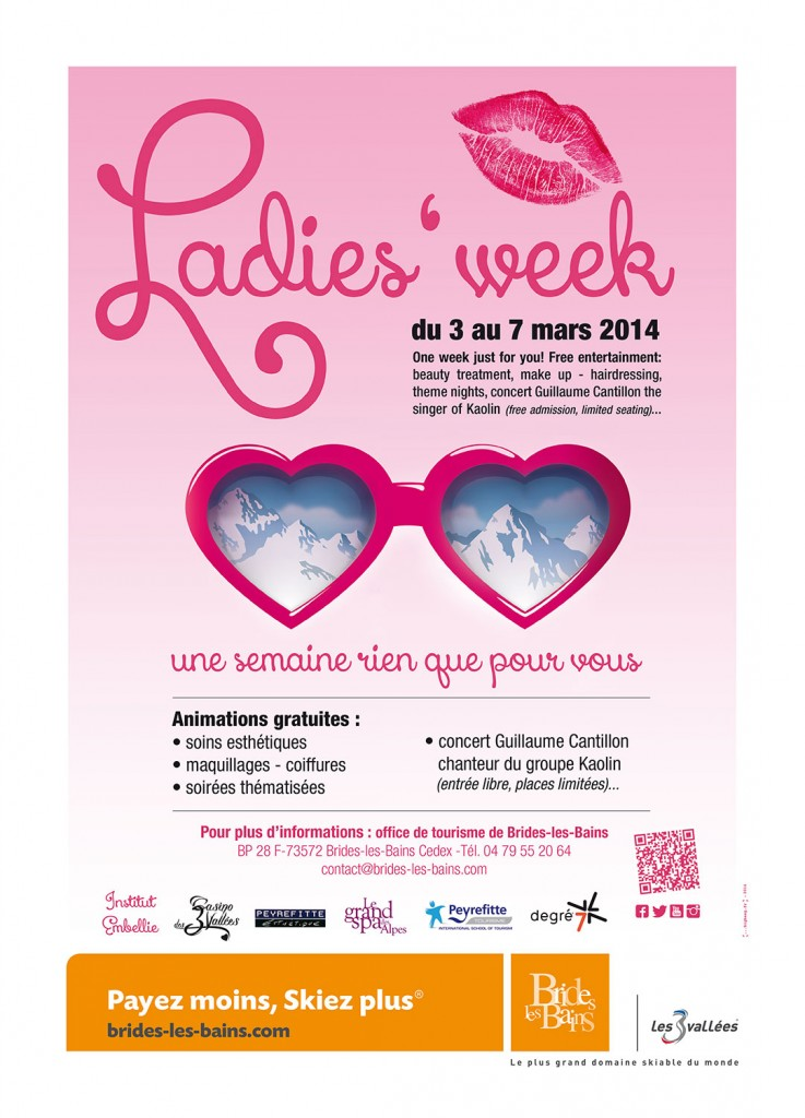 Ladies Week 2014 : c'est parti !